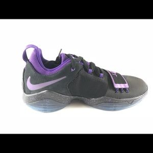 3e4cc3542396 Nike Shoes - Nike PG 1 Black Court Purple-Hyper Grape